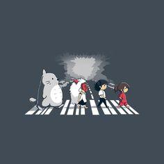 Ghibli Road by ramyb - Shirt sold on September 10th at http://teefury.com