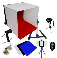 Description: This Photography Studio Light Box/Tent would be a great addition to your studio. The light tent, makes it easy to take professional digital photos of products and items. Not only does the