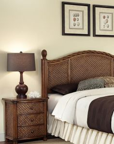 Home Styles Marco Island QueenFull Headboard and Night Stand -- You can find more details by visiting the image link.