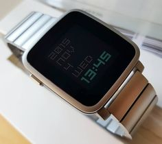 """""""My Pebble Time Steel is finally complete."""""""