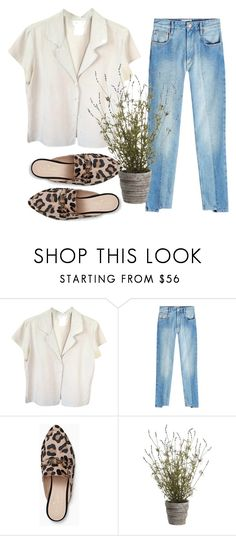 """""""Untitled #74"""" by morningsilk ❤ liked on Polyvore featuring agnès b., Étoile Isabel Marant, Kate Spade and Allstate Floral"""