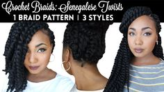 1 Braid Pattern Create 3 Styles - http://community.blackhairinformation.com/video-gallery/weaves-and-wigs-videos/1-braid-pattern-create-3-styles/
