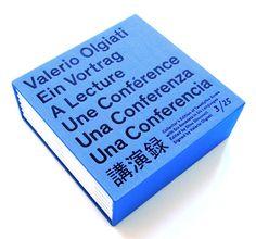 Valerio Olgiati A Lecture, Dino Simonett and Bruno Margreth.