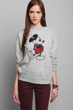 Vintage Mickey Sweatshirt #urbanoutfitters #vintage