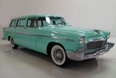 1956 Chrysler New Yorker station wagon... Or you could have had a 56 Nomad.