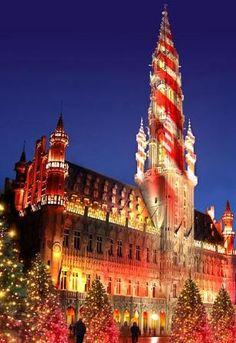 Christmas market in Brussels // Winterplezier // Plaisir d'Hiver Brussel 2013