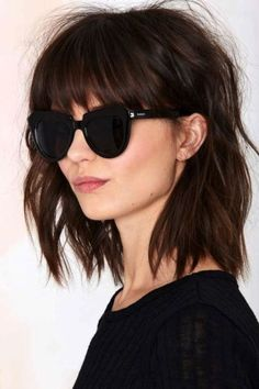 Stylish Long Bob Hairstyles to Try in 2016 : I love the feeling of the fresh air on my face and the wind blowing through my hair.