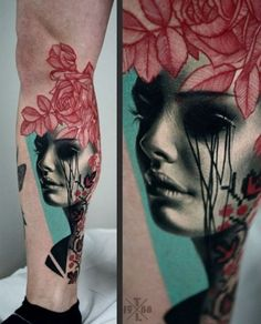 Tattoo done by Timur Lysenko
