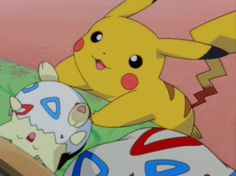 Tickle Tickle Tickle. Togepi, Pikachu