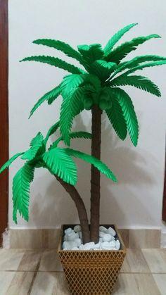 Jungle Decorations, Miniature Trees, Maya, Origami, Miniatures, Biscuit, Artwork, Plants, Beauty
