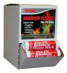 Rainbow Flame Fireplace Color Stick   Fireplace Accessories & Tools