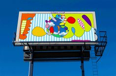 Reclaiming Billboards to Promote Public Art