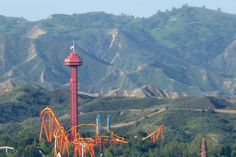 BEST THEME PARK: Six Flags Magic Mountain --  For roller coaster lovers, it doesn't get much better than Six Flags Magic Mountain. The park boasts the world's largest lineup of coasters - 18 of them - including some rather inventive offerings and record-breakers. #Valencia #SixFlags