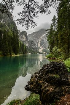 Rain on Lake Braies by Aleksandr Roma on 500px