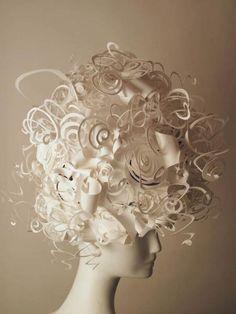 Jeffrey Afro / Paper Wig