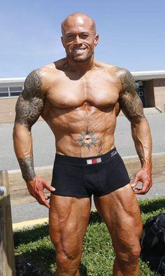 Tattooed Physique Model John Quinlan #JohnQuinlan