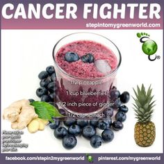 ☛ A very potent cancer-fighting drink filled with antioxidants.  FOR JUICE DETAILS & HOW THIS DRINK FIGHTS CANCER: http://www.stepintomygreenworld.com/healthyliving/cancer-fighting-drink/  ✒ Share | Like | Re-pin | Comment