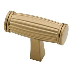 Liberty 1-5/16 in. Champagne Bronze Fluted Bar Cabinet Knob-P31003C-CZ-CP - The Home Depot