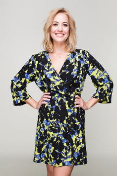 1dc957eeb4 Black Floral Robe, Robe Sale, Black Floral Kimono, Floral Bridesmaid Robe,  Black Dressing Gown, Bridesmaid gift sale, Yellow Floral Robe, UK