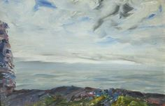 Jack Butler Yeats - The Coast of Clare from Dun Aengus