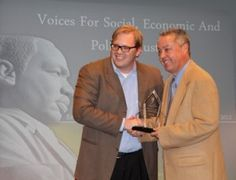 """The Rollins School of Public Health and the Goizueta Business School """"Voices for Social, Economic and Political Justice"""" Martin Luther King Jr. Community Service Awards"""