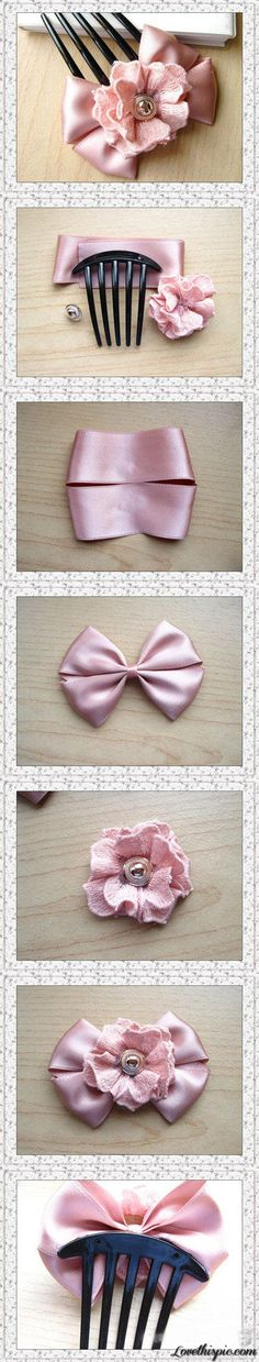 Diy Hair Bow diy crafts home made easy crafts craft idea crafts ideas diy ideas diy crafts diy idea do it yourself diy projects diy craft handmade craft accessories