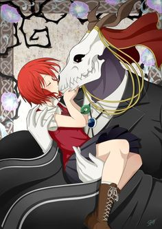 The Ancient Magus' Bride Elias Ainsworth Sailor Moon, Anime Couples, Cute Couples, Anime Manga, Anime Art, Elias Ainsworth, Chise Hatori, The Ancient Magus Bride, My Fantasy World