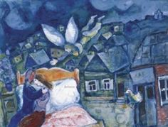 Marc Chagall's the dream