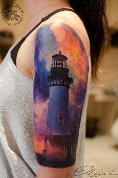 Beautiful Lighthouse Sleeve