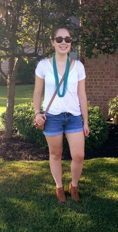 OOTD: Boho necklace and wedges