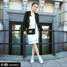 Loving @carodaur 's look with our Aminia small shoulder bag. She looks just perfect! #matthewharris #mh #style #fashion #fashionblogger #blogger #blog #ootd #fashionista #stylish #photooftheday #beautiful #beauty #shopping #fashionblogger_de #worldofmatthewharris