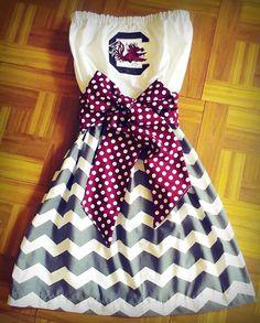 Gamecocks Gameday Dress by Monogrambymelissa on Etsy, $42.00