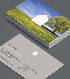 Your Dream Home: these architect Business Cards are designed to give new clients a sense of the kind of potential you can provide – if they trust your creative vision. #moocards #luxebymoo #businesscard