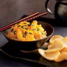 Shrimp in Yellow Sauce   MyRecipes.com