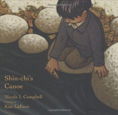 Shin-chi's Canoe by Nicola I. Campbell Pictures by Kim LaFave Summary : Shin-chi's Canoe is a story about two Native American children'. Canadian Culture, Canadian History, Indian Residential Schools, La French, Indigenous Education, Native American Children, American Indians, Version Francaise, Children's Literature