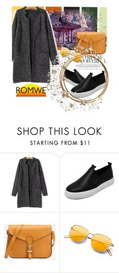 """""""ROMWE 3/X"""" by saaraa-21 ❤ liked on Polyvore featuring romwe"""