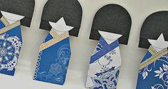 petites poupées chinoises pouvant servir de marque pages  Tutorial