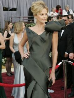 Charlize Theron, Dior Haute Couture by John Galliano