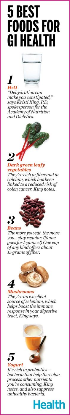 5 Best Foods for GIHealth