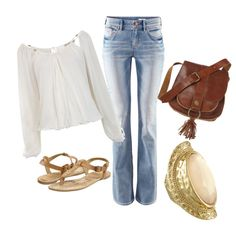 Casual Walk, created by nourgelitnius on Polyvore