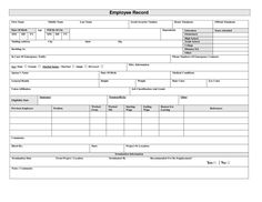 Employee Write Up Template Free  Google Search  Employee Forms