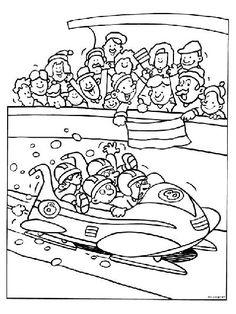 Met Deel 2 van de Olympische spelen knutselen gaan we nu beginnen. Mocht je deel 1 nog niet gezien hebben, die kan je vinden onderaan deze blog. Zoals ik in deel 1 al beschree Winter Olympic Games, Winter Olympics, Coloring For Kids, Coloring Pages, Winter Sports, Summer Activities, Illustrations Posters, School, Crafts