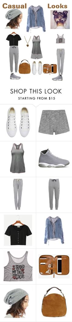 """""""Casual Looks"""" by sweetyincago ❤ liked on Polyvore featuring Converse, rag & bone, The North Face, NIKE, Project Social T, Sole Society, UGG and Etro"""