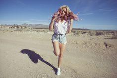Fanny Lyckman - Pink Hair Pink Hair, Running, Sports, Style, Fashion, Rosa Hair, Hs Sports, Swag, Moda