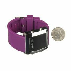EDEALLINE LED Wrist WatchFashion Square Mirror Silica Gel Belt Unisex by WATCHES. $5.89. LED Watches. Fashion design with unique exquisite appearance. Adjustable Silica Gel  watchband. High quality material protects dial from scratches and scrapes. Description: - Digital unisex LEDwrist watch will make you more convenient andgive you more precise time  - Squaredial is elegant and stylish  - Adjustable watchband gives you more convenience and protects the ...