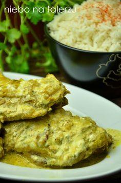 Bardzo dobry kurczak po indyjsku - niebo na talerzu Poultry, Curry, Chicken, Indie, Foods, Blog, Products, Diet, Recipies