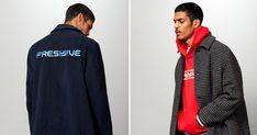 Freshjive lança coleção minimalista e colorida Streetwear, Athletic, Jackets, Clothes, Fashion, Winter Collection, Colorful, Brazil, Minimalist