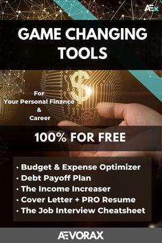 This is an Awesome Pack which includes the Essential Tools You Need to cut your monthly expenses, increase income and save money at the end of every month! | And benefit from the Top Career Tools to find your Dream Job! | Click Paying Back Student Loans, Monthly Expenses, Debt Payoff, Financial Goals, Dream Job, Toolbox, Finance Tips, Money Management, Money Saving Tips