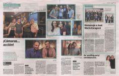 Jaime Álvarez (Director General de Gourmet) y Aitor Tobes (Departamento de Innovación), apoyaron con su presencia la exposición de carteles en Lotelito de Cinema Jove, pistoletazo de salida del festival valenciano de cine. ¡Gourmet S.A. con la cultura!