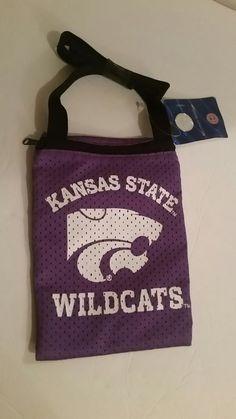 NCAA Kansas State Wildcats Zippered Game Day Pouch Bag University Logo Purple  | Sports Mem, Cards & Fan Shop, Fan Apparel & Souvenirs, College-NCAA | eBay!